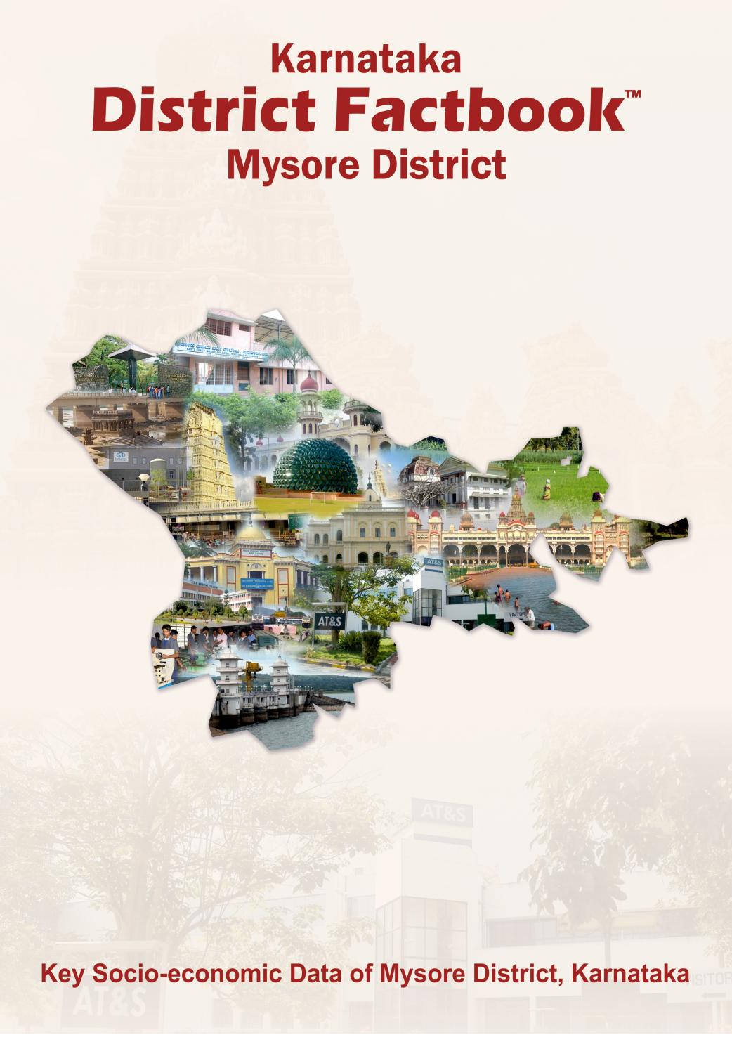 KARNATAKA DISTRICT FACTBOOK : MYSORE DISTRICT by