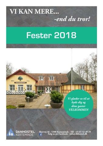 d6b521efe764 VisitKerteminde Inspirationsmagasin 2018 2019 by Kerteminde The ...