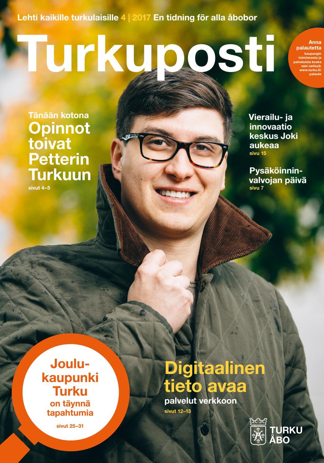 joulu-uinnit raisio 2018 Turkuposti 4/2017 by Turun kaupunki – Åbo stad   issuu joulu-uinnit raisio 2018