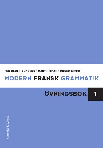 fransk grammatik pdf