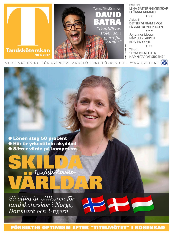 Tandsköterskan 2017-04 by Break a Story Communication AB - issuu e4bbbc1ca9019