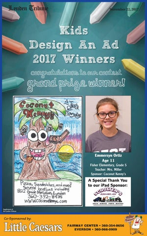 Fairway Auto Center >> Kids Design-An-Ad 2017 by Lynden Tribune - Issuu