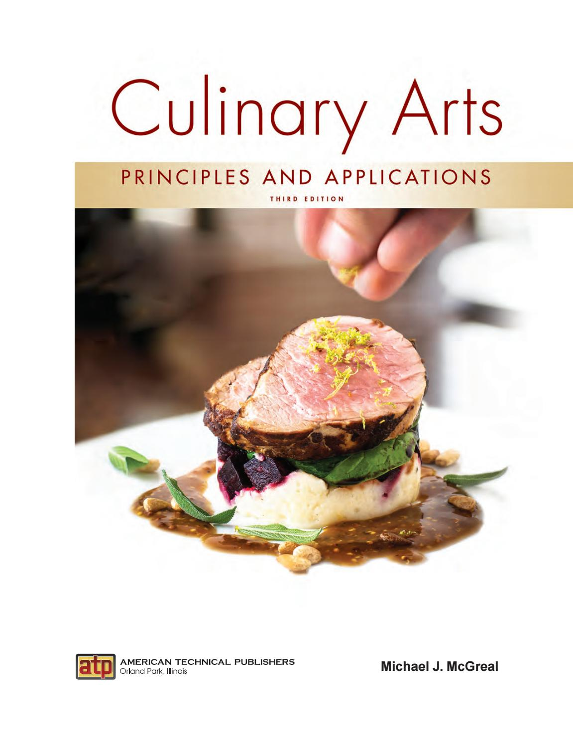 Culinary Arts Principles And Applications 3rd Edition By American Technical Publishers Issuu
