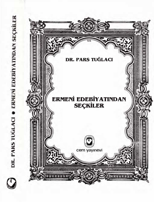 Pars Tuglaci Ermeni Edebiyatindan Seckiler By Engins Issuu