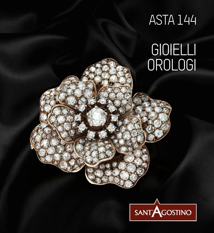 cabochon fiore rosa bronzo catena fine Bracciale bianco