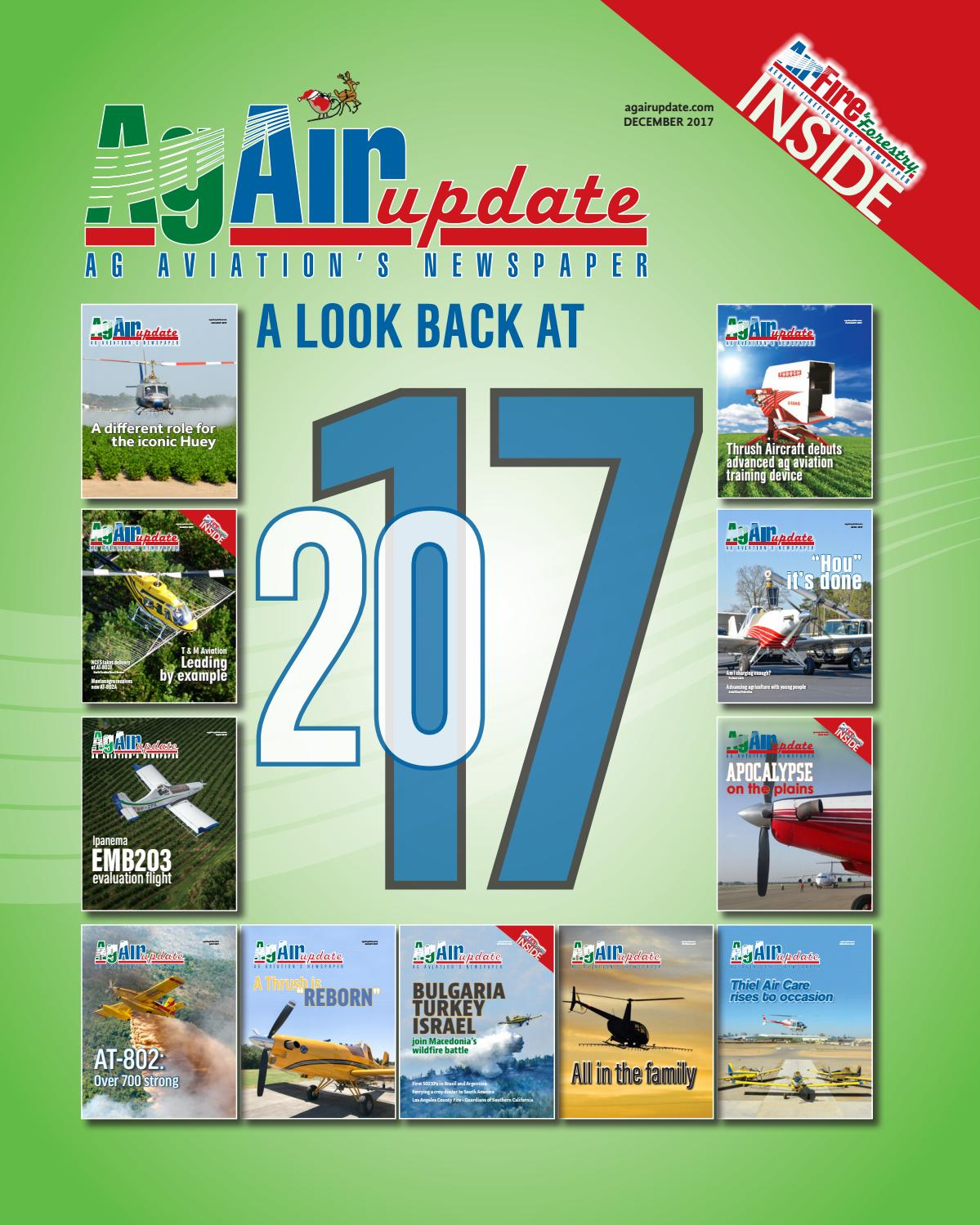 7fd6d9e6eea45 December 2017 - U.S. Edition in English by AgAir Update - issuu