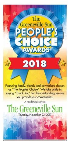 The Greeneville Sun: Peopleu0027s Choice 2018 By The Greeneville Sun ...