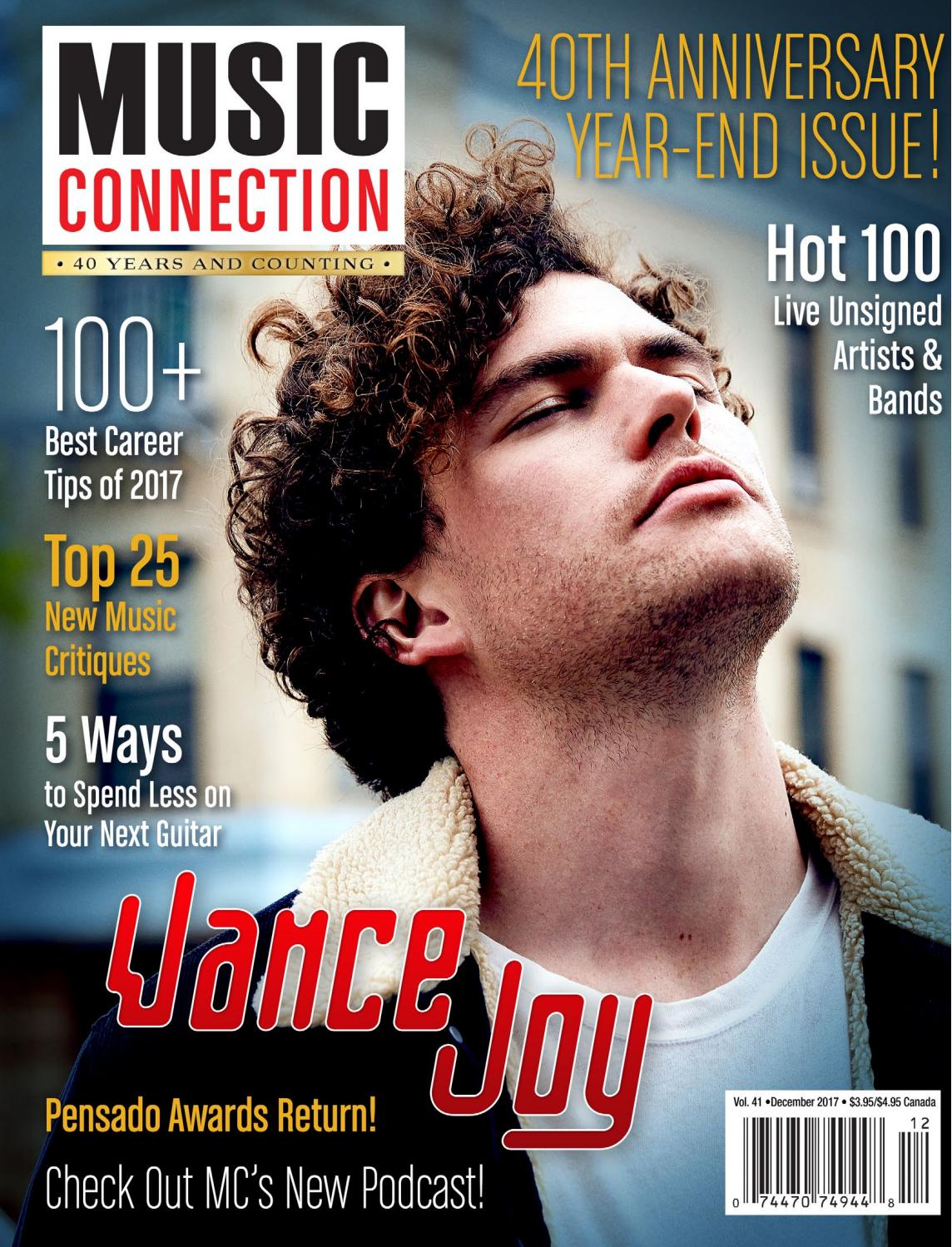 Music Connection December 2017 by Music Connection - issuu
