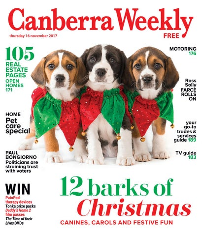 16 November 2017 By Canberra Weekly Magazine Issuu