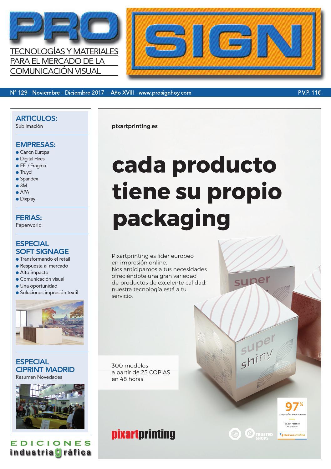 Prosign 129 - Noviembre   Diciembre 2017 by Ediciones Industria Gráfica -  issuu 98f8dd5b51f41