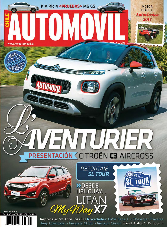 6a52e1f8e03b Revista Automóvil Panamericano Edición Chilena Nº98 (Noviembre 2017) by RS  Chile - issuu