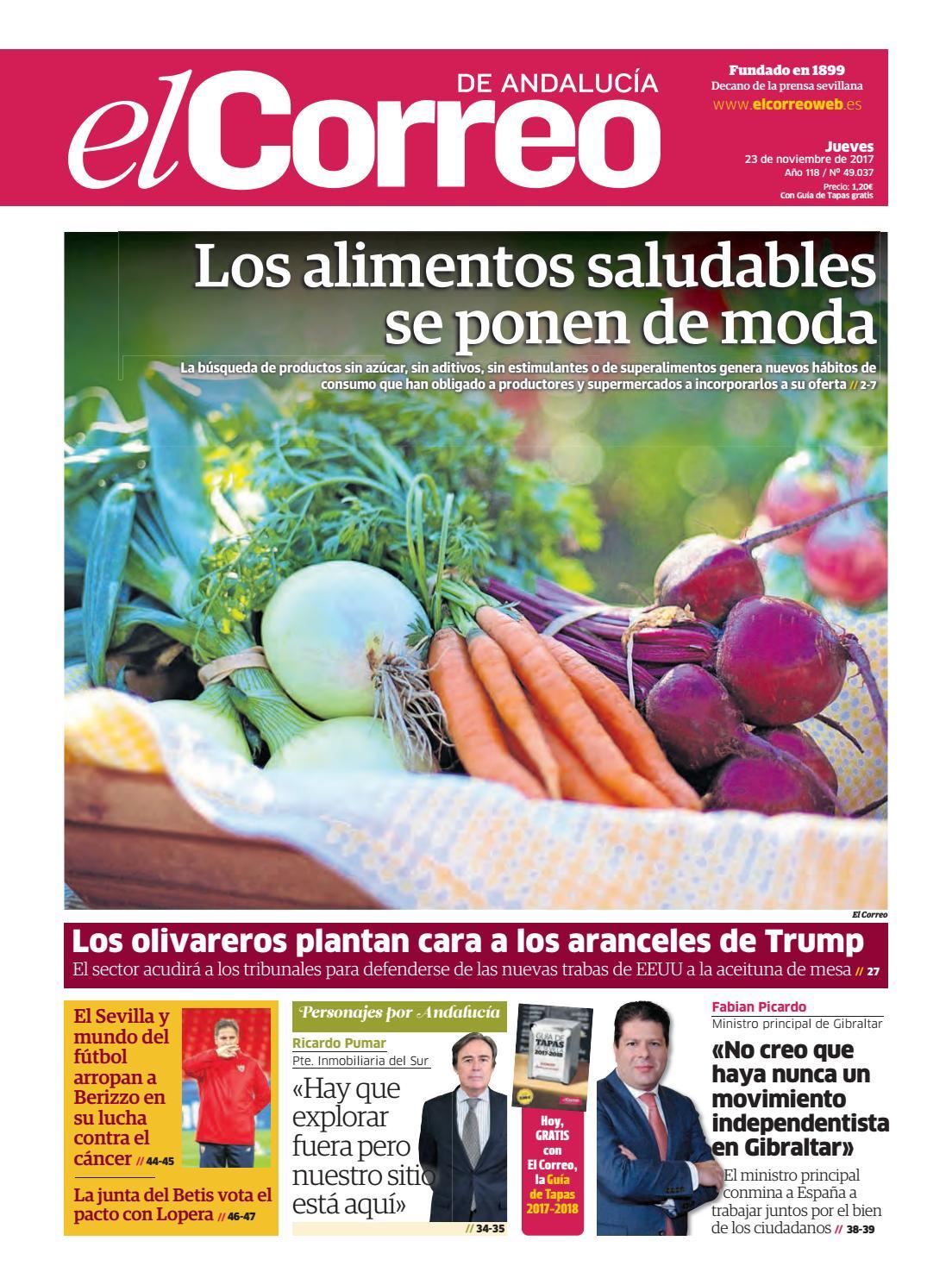 23.11.2017 El Correo de Andalucía by EL CORREO DE ANDALUCÍA S.L. - issuu