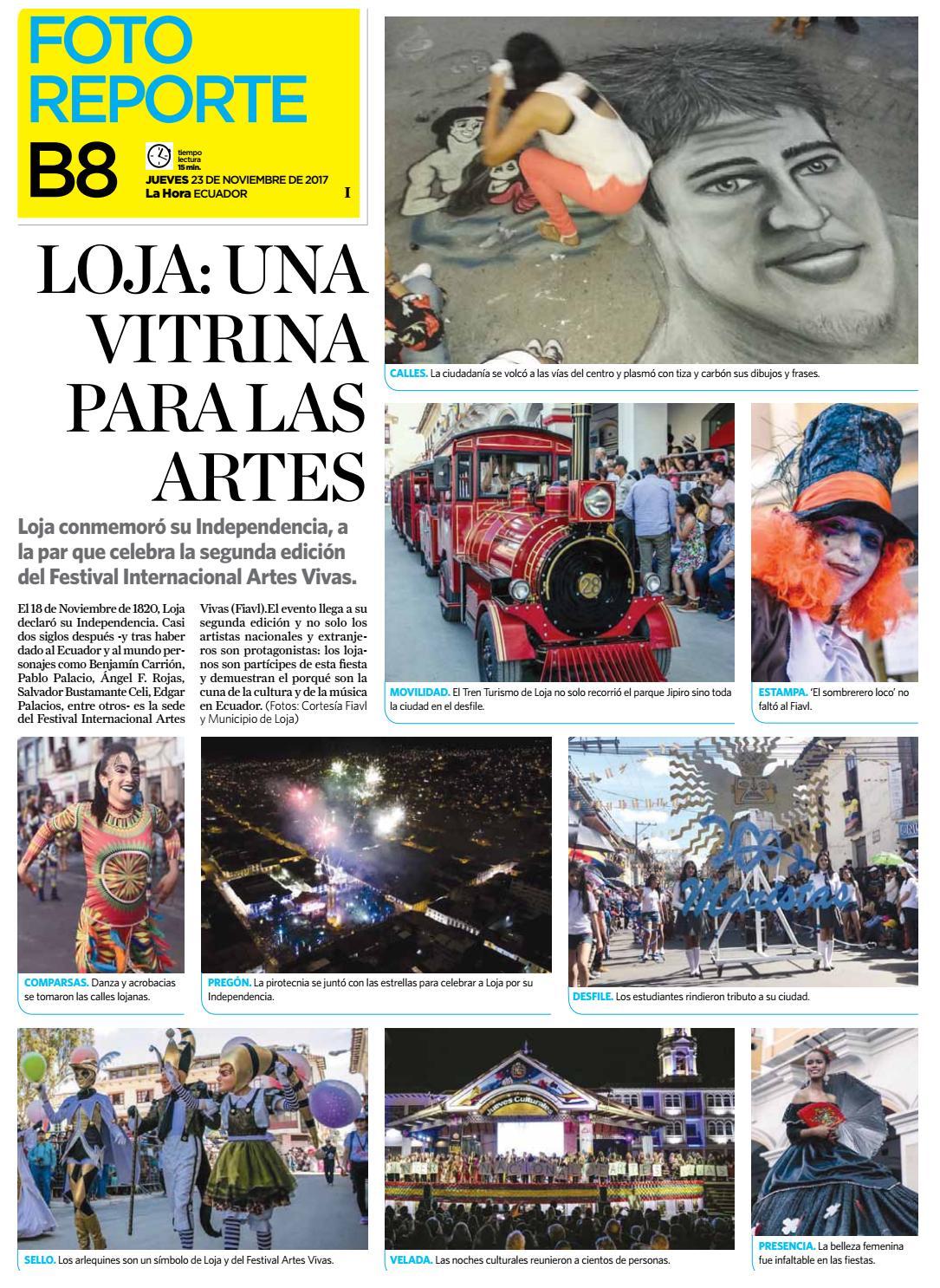 Quito 23 De Noviembre De 2017 By Diario La Hora Ecuador Issuu