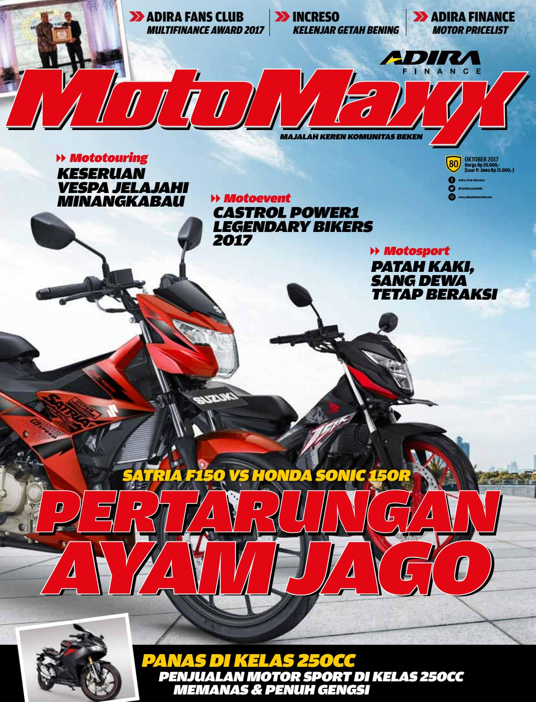 Motomaxx Oktober 2017 By Adira Member Issuu New Vario 110 Esp Cbs Iss Grande White Depok