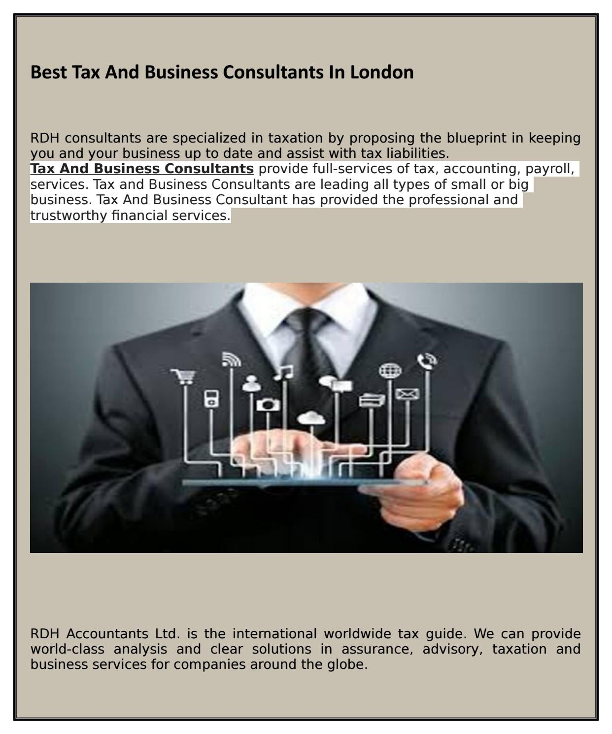 Best tax and business consultants in london by theaccountancy issuu malvernweather Image collections