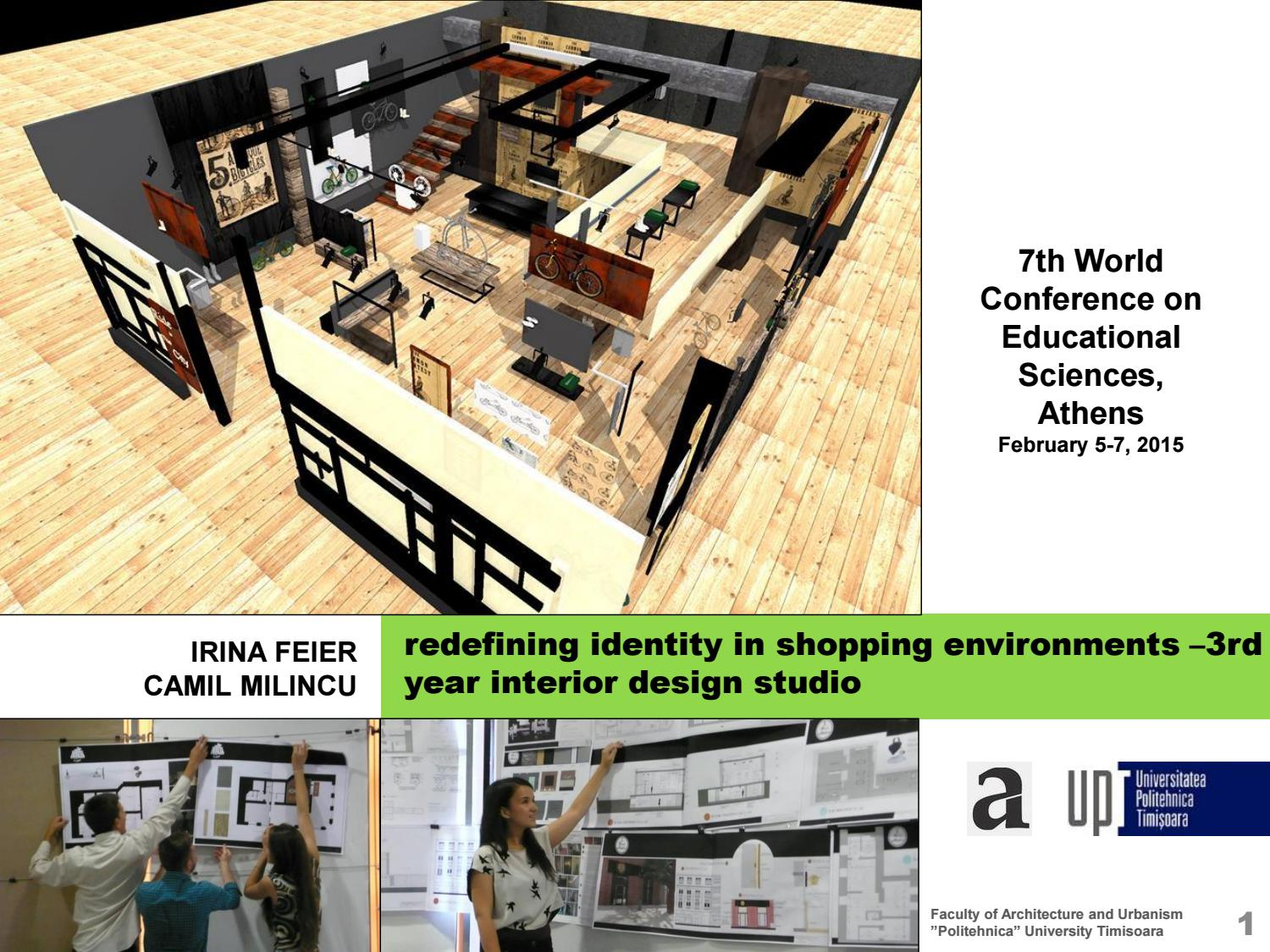 Redefining Identity In Shopping Environments   3rd Year Interior Design  Studio By Irina Feier   Issuu