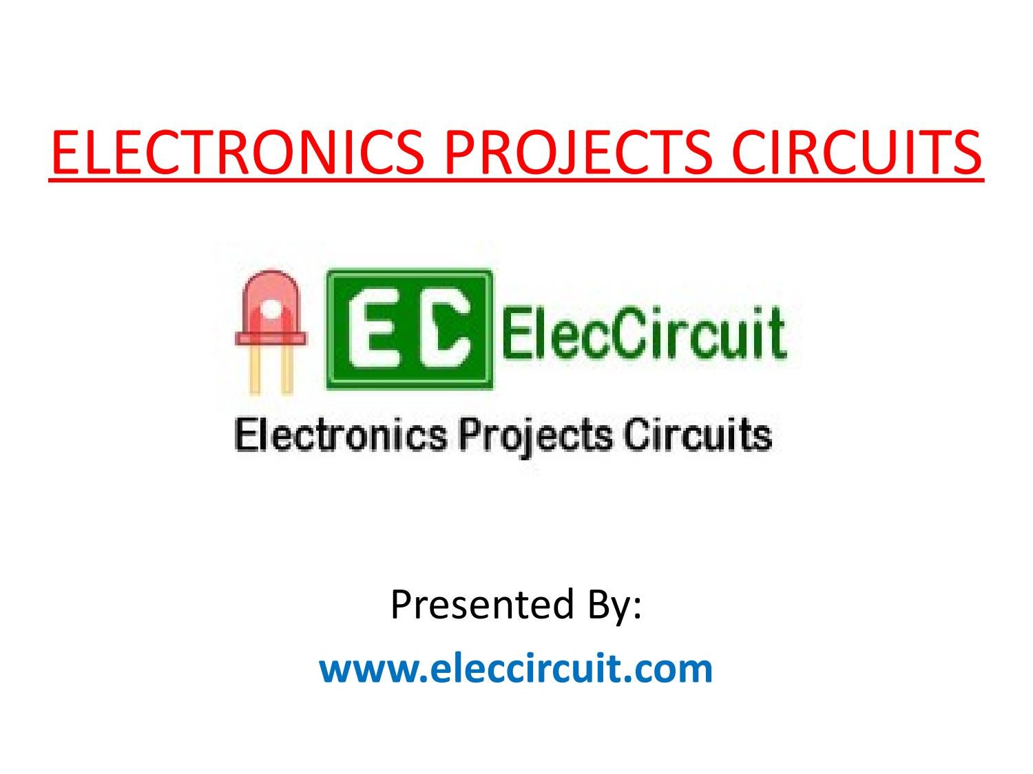 Basic Electronics Circuit Diagram By Projects Circuits Electronic Siren With Two Transistor Issuu