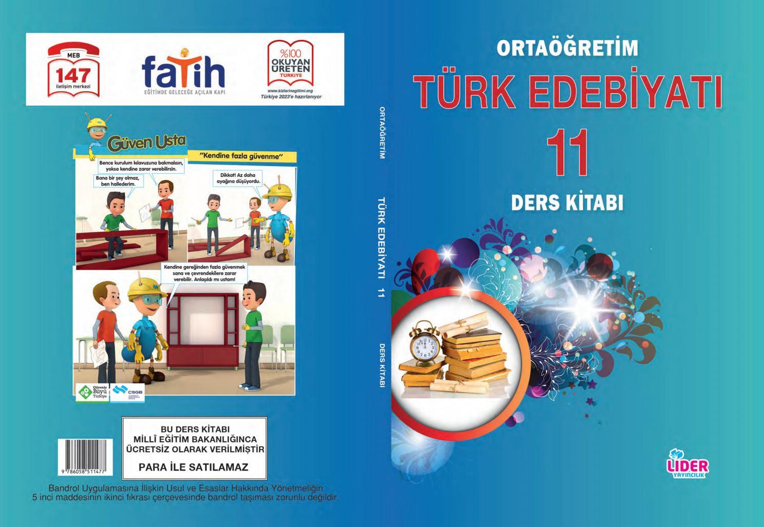 Türk dili ve ed 11 sınıf lider yay by Ahmet Kundakçıoğlu - issuu