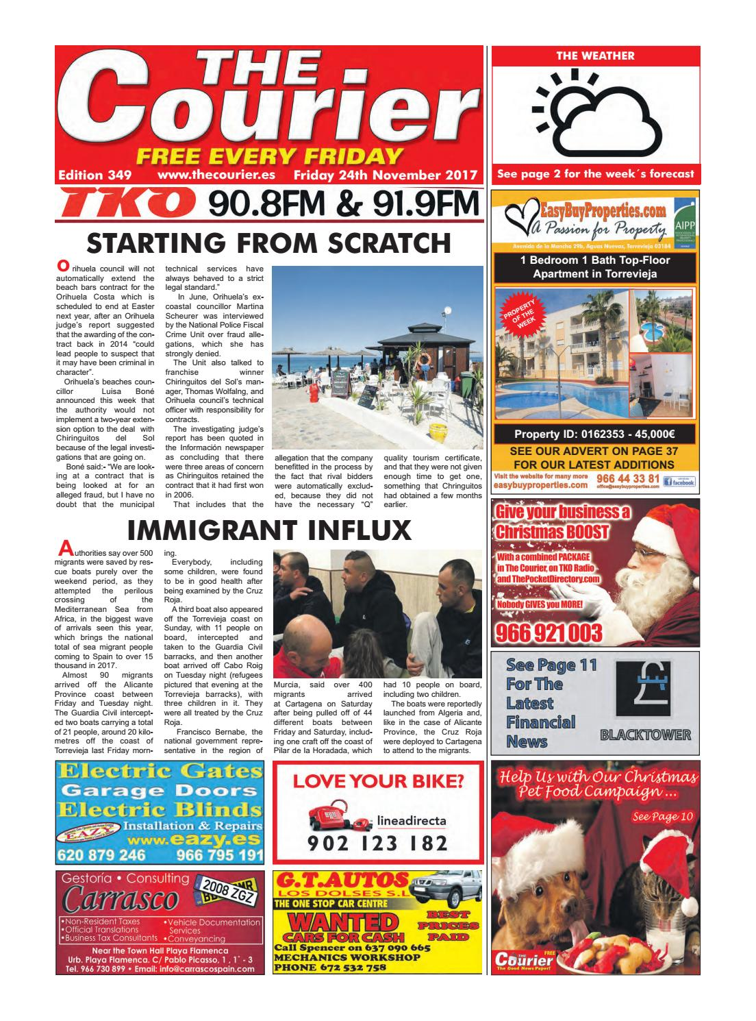 The Courier 349 By The Courier Newspaper Issuu