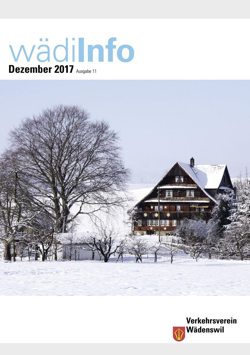 Wwf Weihnachtskarten.Wädiinfo Dezember 2017 By Chilbi Issuu