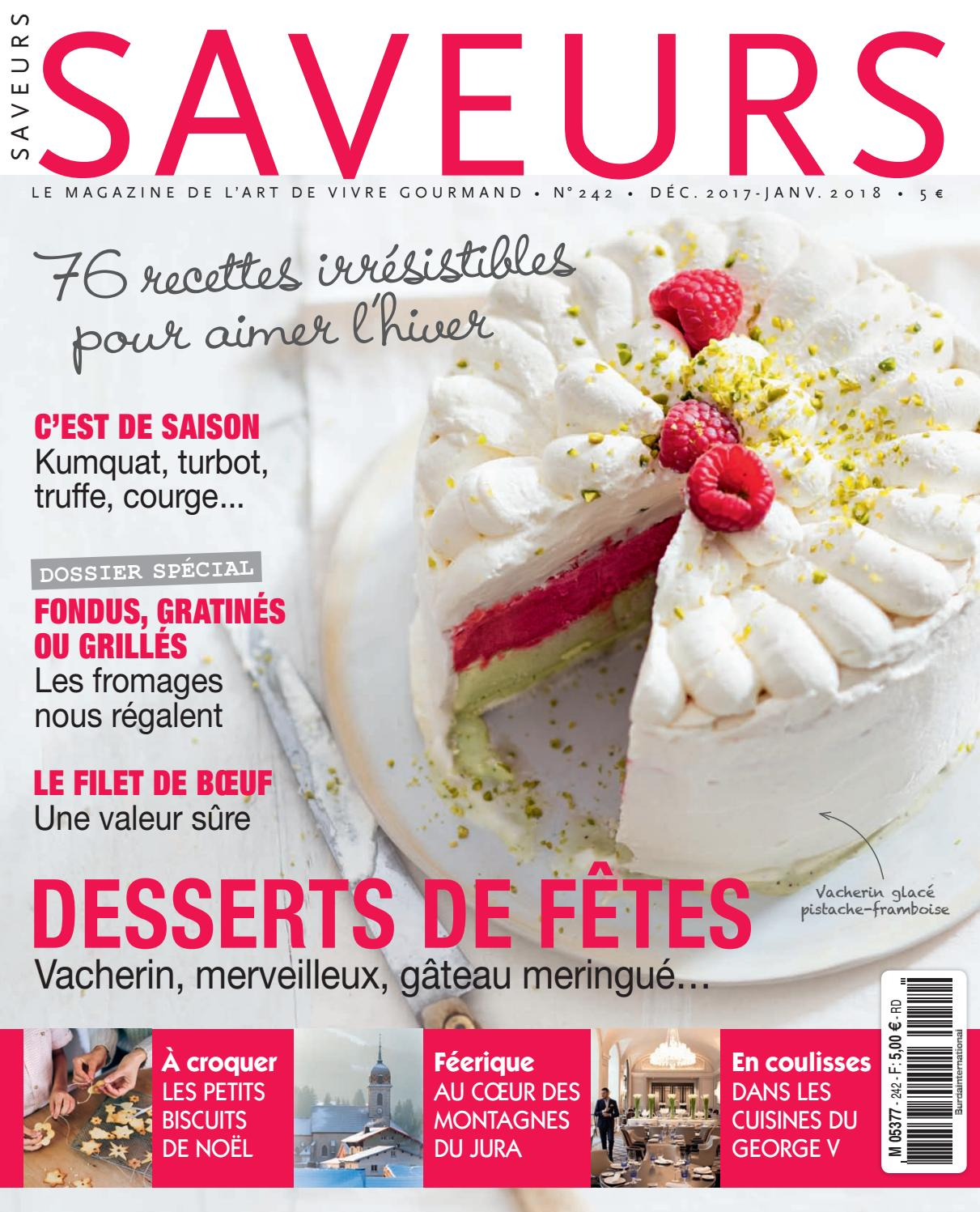 Extrait Pdf Saveurs 242 By Saveurs Magazine Issuu