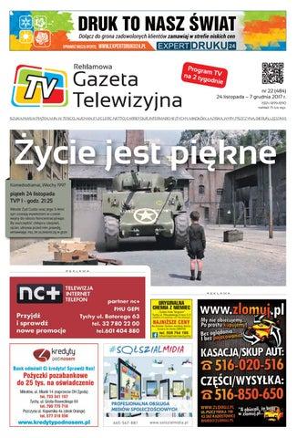 1b7b30f979b867 Telewizyjna nr 22 - 2017 11 24 by Krzysztof Ewicz - issuu