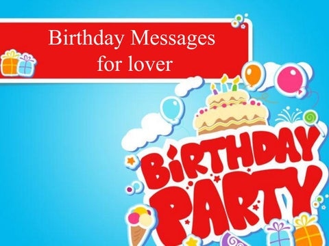 Romantic birthday wishes birthday messages for lovers by merry page 1 birthday messages for lover m4hsunfo