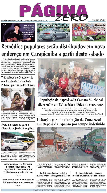 665812354e Página Zero Edição nº 1319 (24/11/2017) by Para acessar o seu Página Zero -  issuu