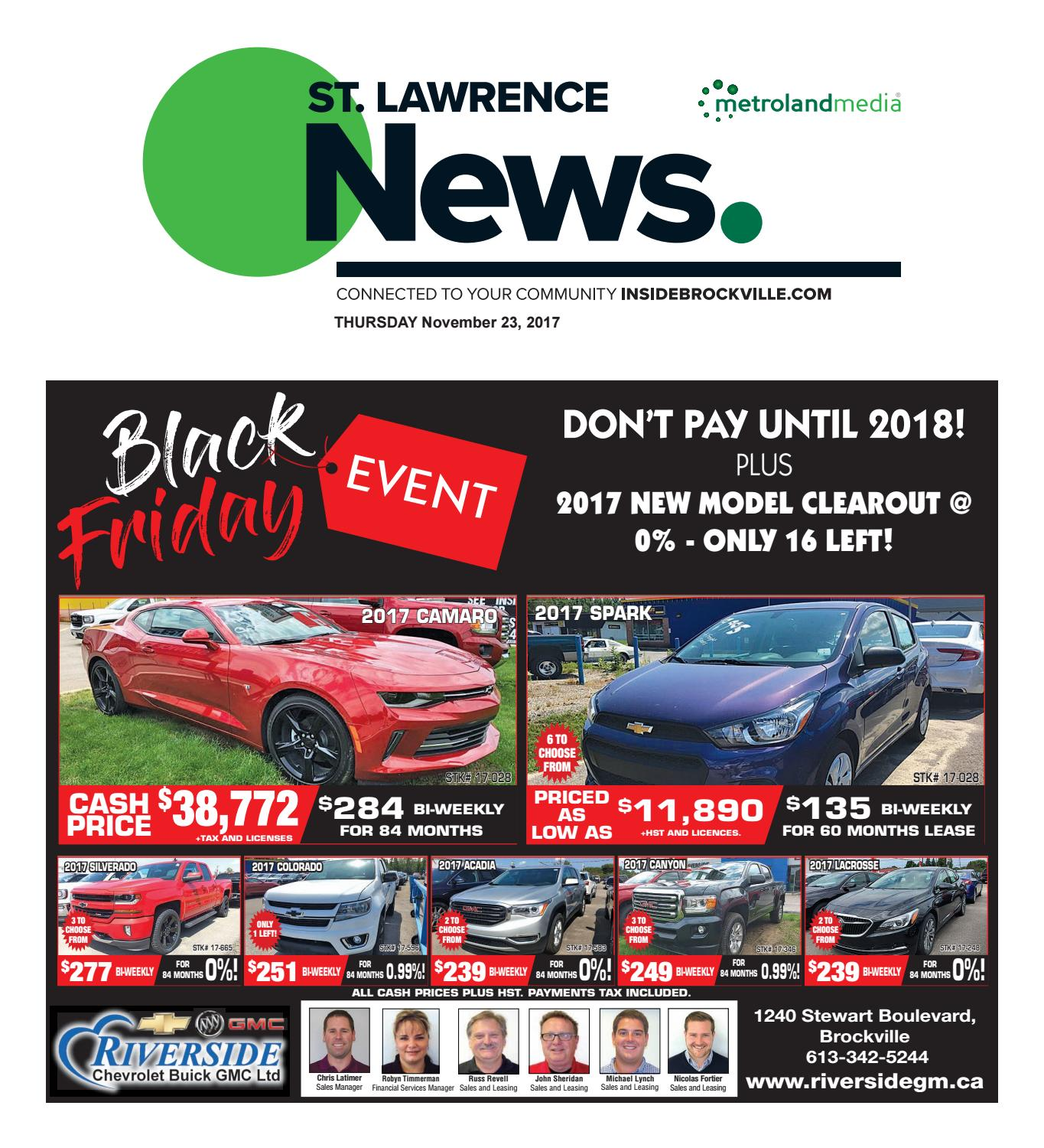 St lawrence by Metroland East St Lawrence News issuu