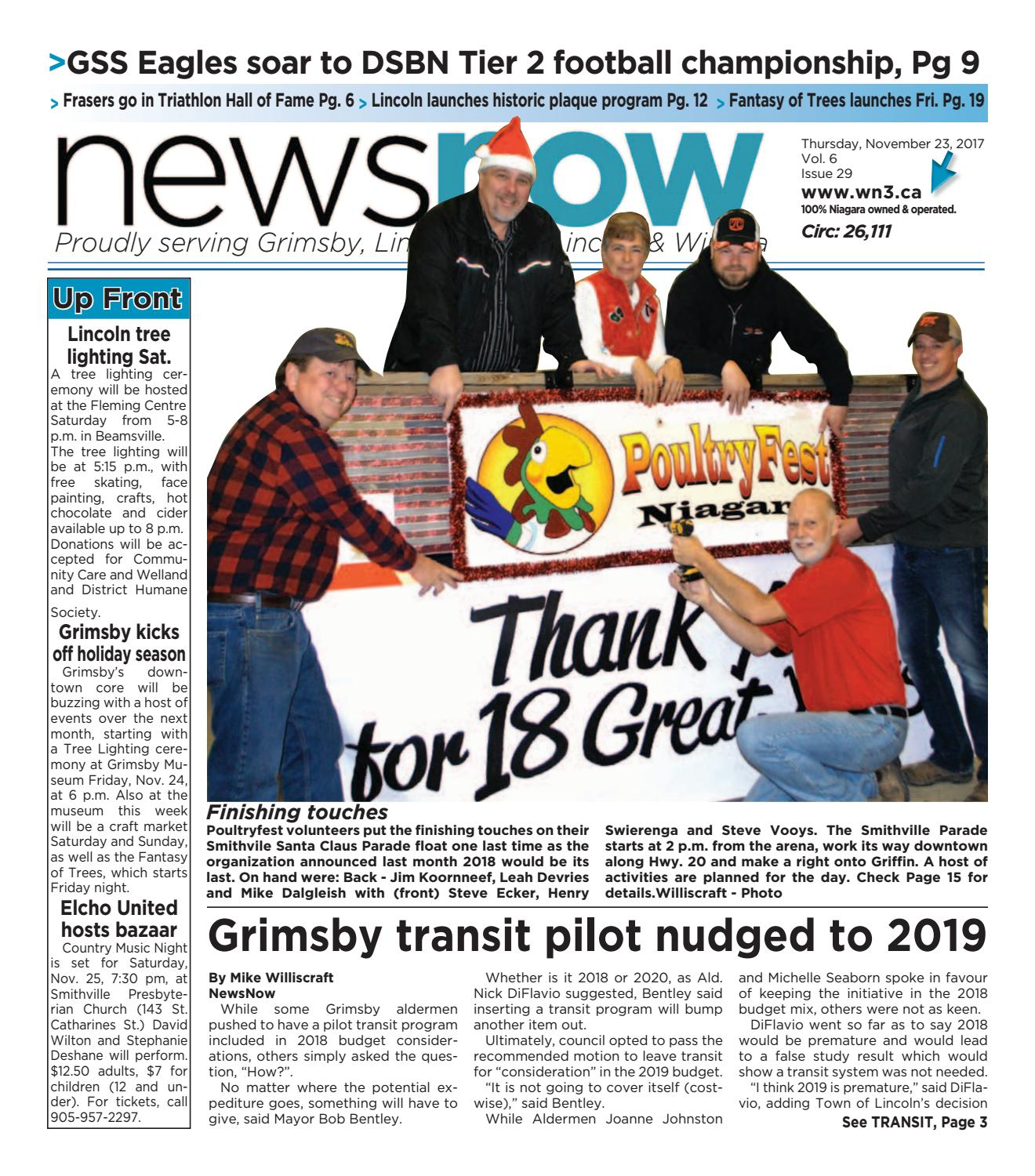 newsnow Niagara e-edition November 23 2017 by newsnow Niagara - issuu