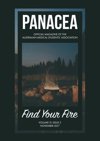 2e950918fa PANACEA OFFICIAL MAGAZINE OF THE AUSTRALIAN MEDICAL  STUDENTS' ASSOCIATION