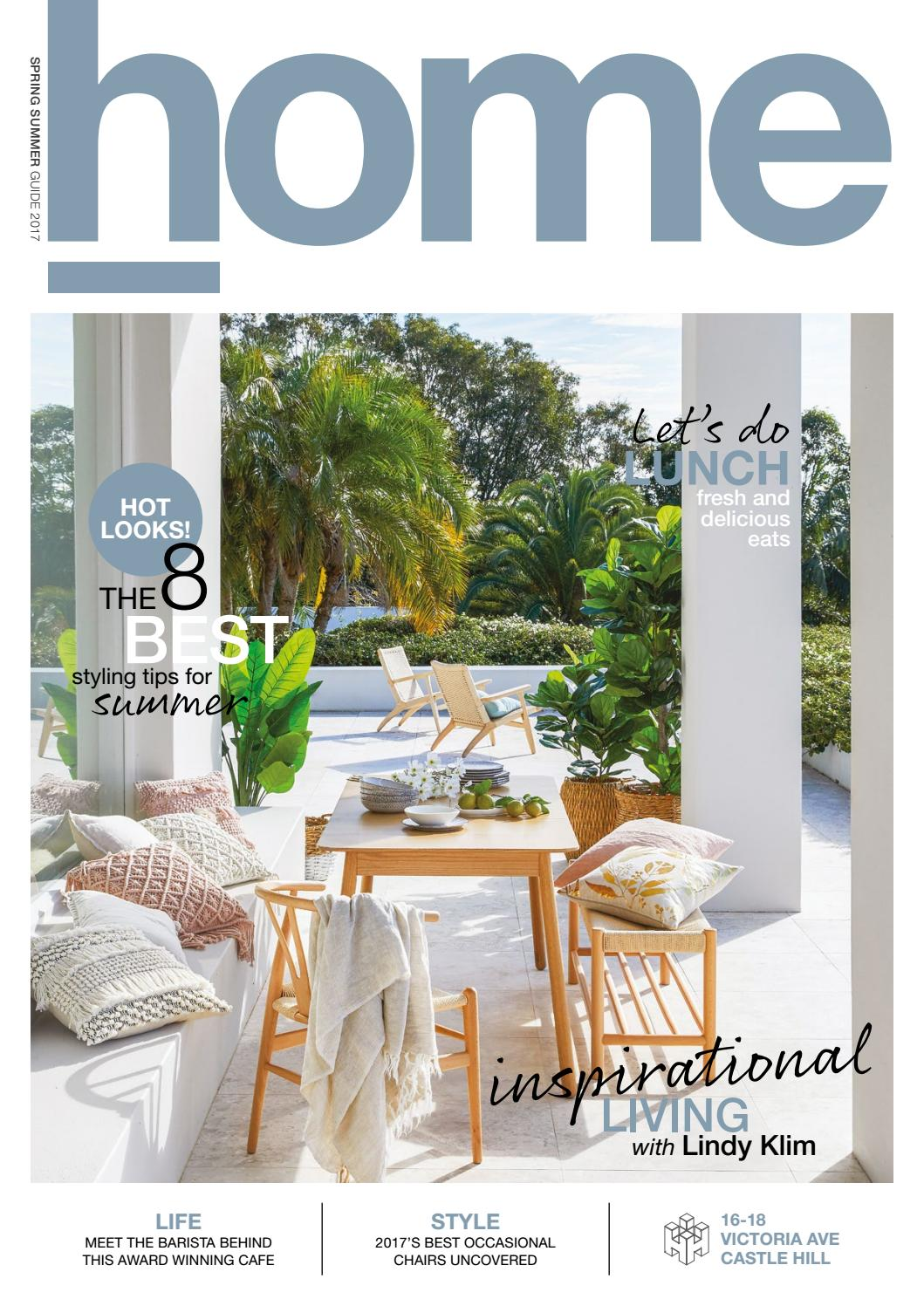 Home Hub Castle Hill Home Ss17 By Style Magazines Issuu