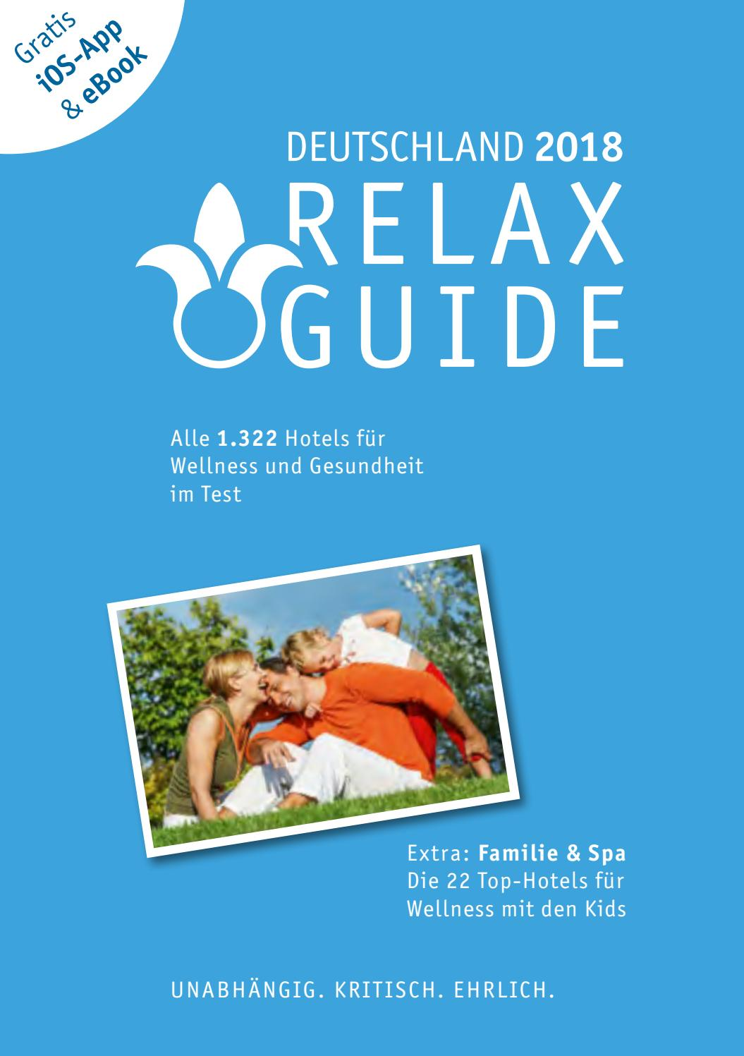RELAX Guide Ebook 2018 DE by Werner Medien GmbH - issuu