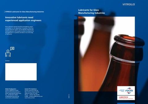 Fuchs lubritech vitrolis glass-Ghanim Trading llc  UAE OMAN by FUCHS