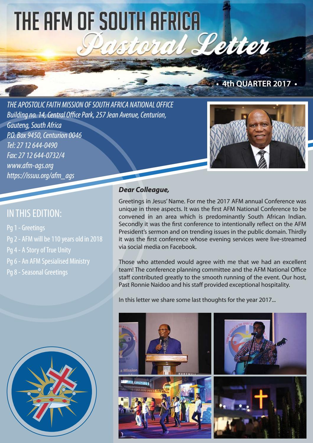 24 november by the apostolic faith mission of sa issuu m4hsunfo