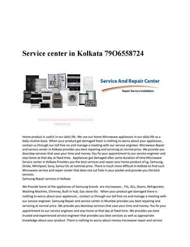 Lg service center in Kolkata by Repair Service Wale - issuu