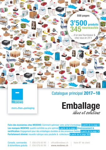 Medewo Catalogue Principal 2017 18 Suisse By Medewo