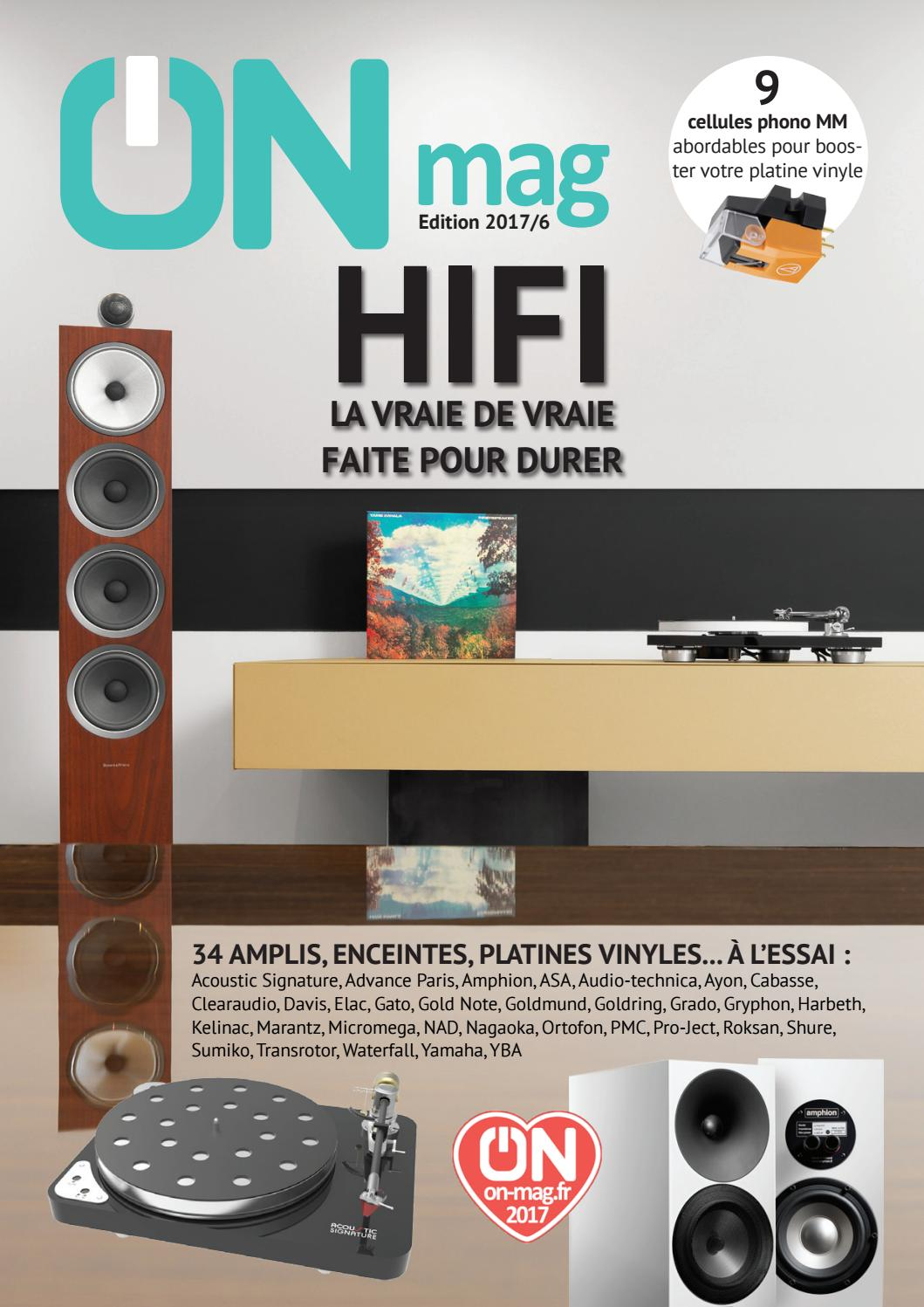on mag guide hifi 2017 by on magazine issuu. Black Bedroom Furniture Sets. Home Design Ideas