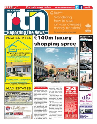 fd6a76b25dcbb Euro Weekly News - Costa del Sol 21 - 27 July 2016 Issue 1620 by Euro  Weekly News Media S.A. - issuu