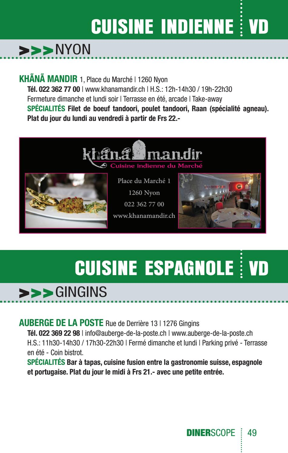 Le Guide Dinerscope 2018 By Dinerscope Suisse Issuu