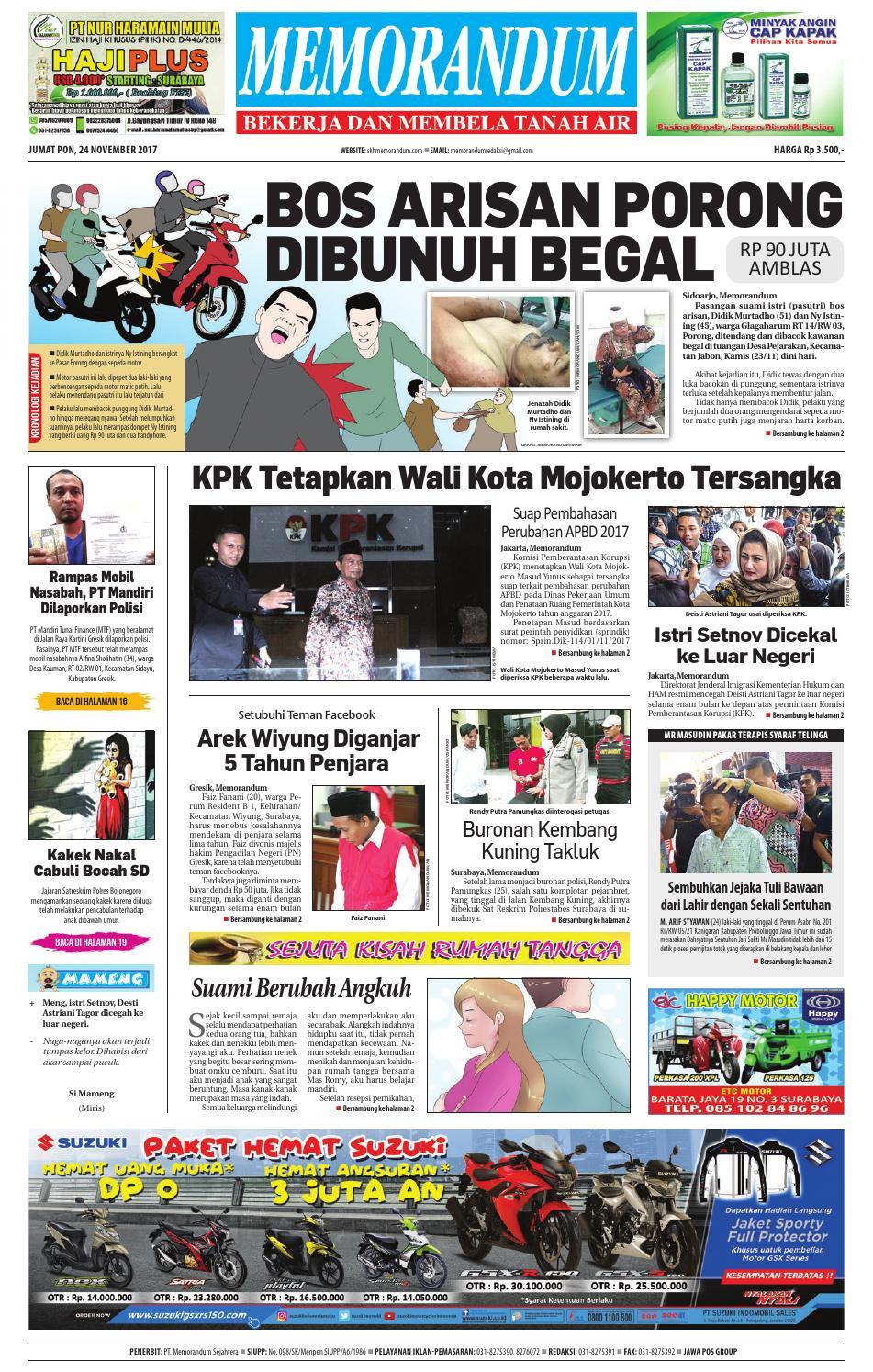Memorandum Edisi 06 April 2017 By Issuu Produk Ukm Bumn Jamu Instan Abah Aromahtrenggalek 24 November