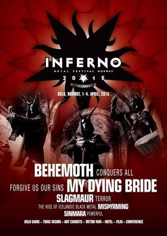 Inferno Magazine 2015 By Metal Festival
