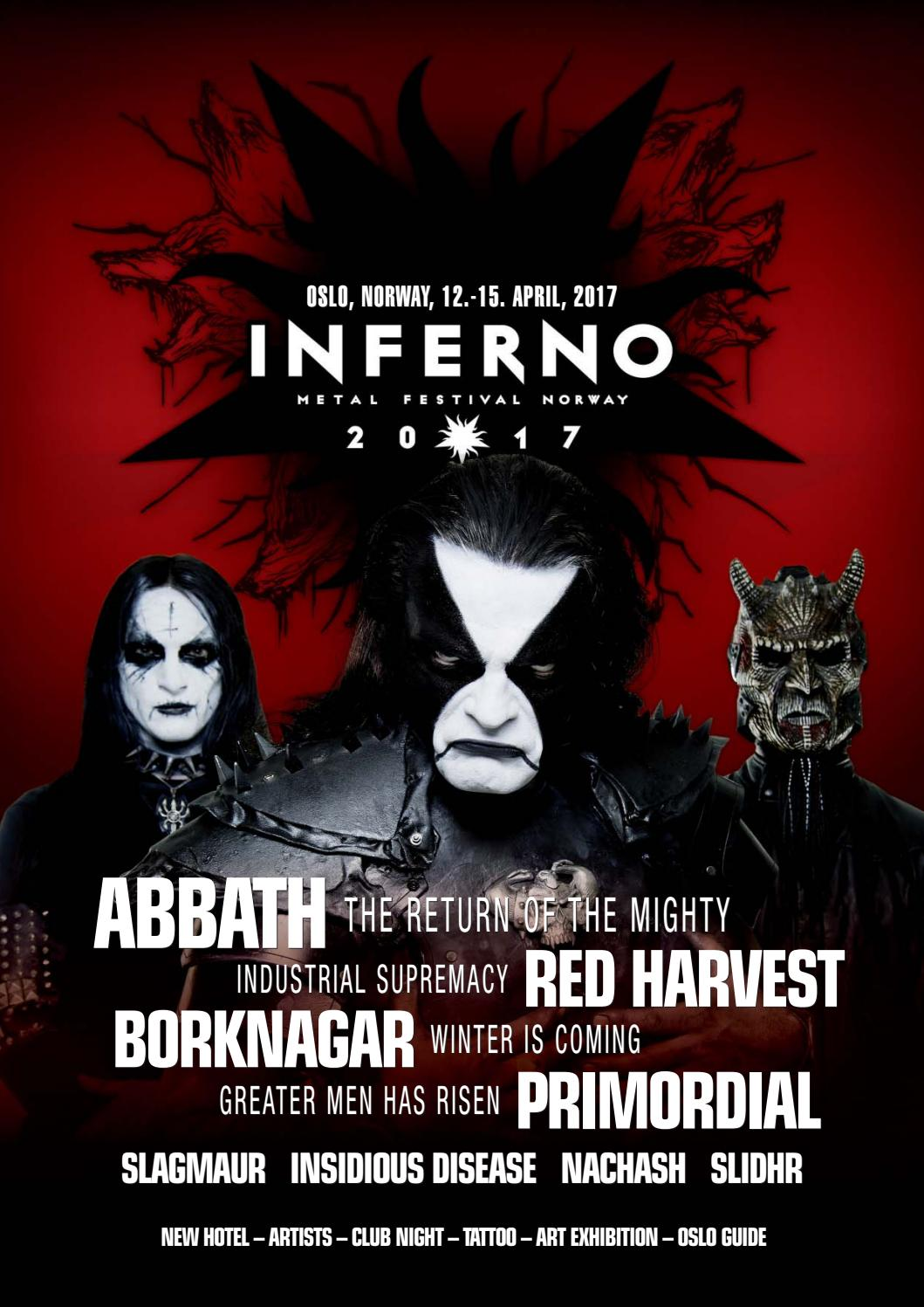 Inferno magazine 2017 by Inferno Metal Festival - issuu