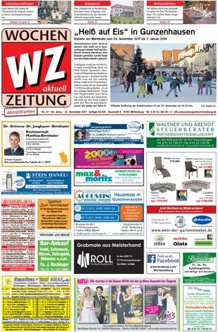 WochenZeitung Weißenburg KW47 By WochenZeitung / SonntagsZeitung   Issuu