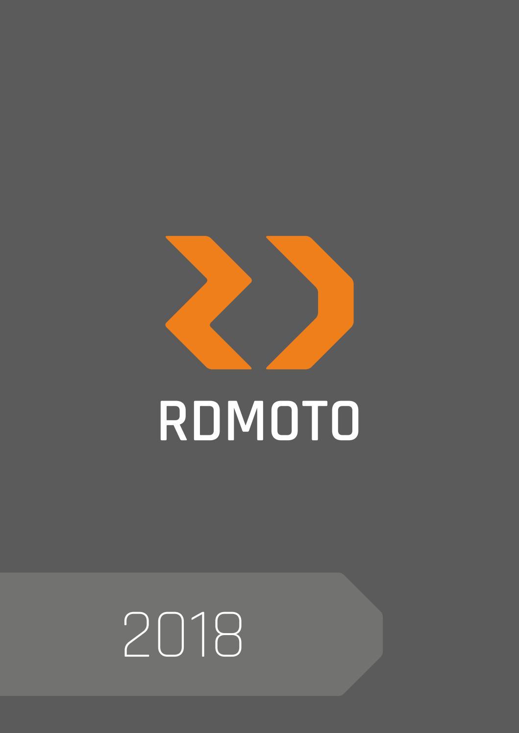Rdmoto Catalogo 2018 By Faster96 Srl Issuu