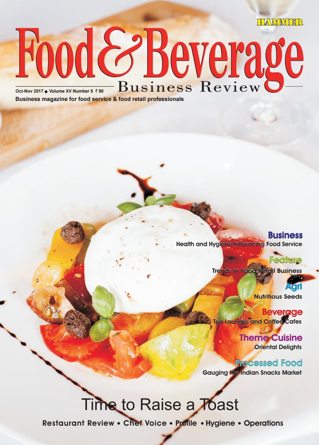 Food Beverage Business Review Oct Nov  By Food Beverage
