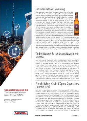 Food & Beverage Business Review (Oct-Nov 2017) by Food