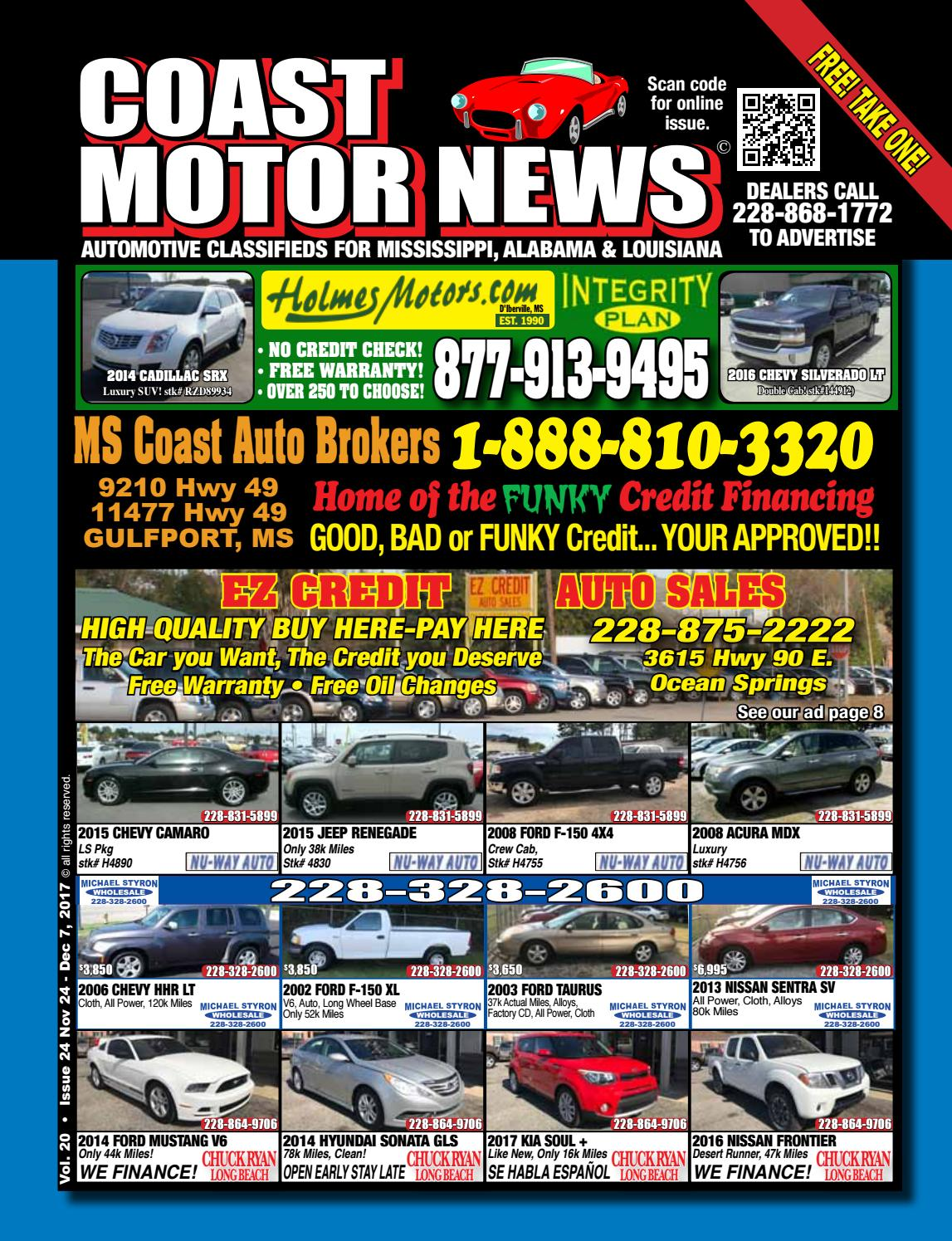 Buy Here Pay Here Car Dealers In Mississippi