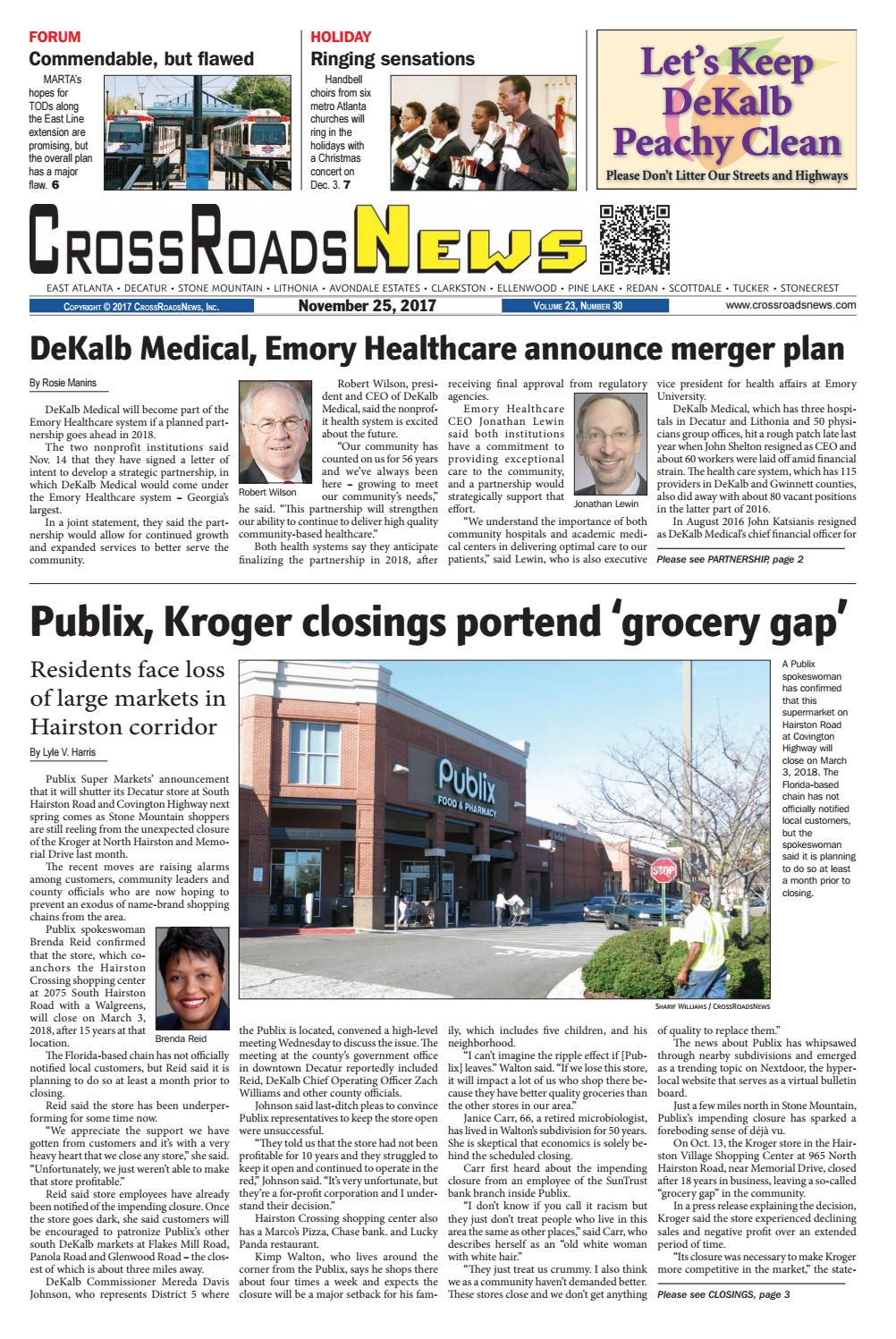 CrossRoadsNews, November 25, 2017 by CrossRoadsNews, Inc. - issuu