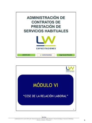 Presentación Módulo Vi By Unidad Administradora De Los